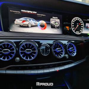 ช่องแอร์แบบมีไฟ Benz S W222